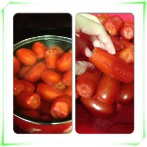 hervir tomate